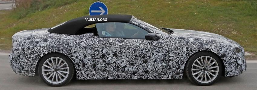 SPYSHOTS: Next BMW 6 Series Convertible testing Image #586389