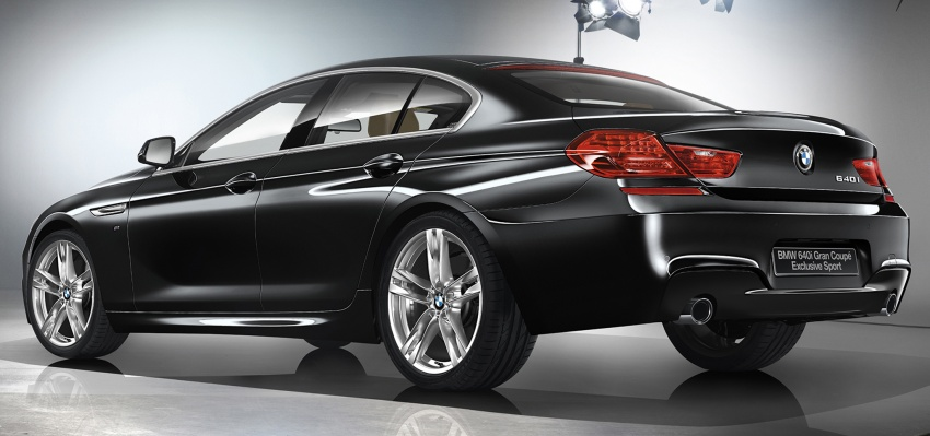 BMW 640i Gran Coupe Celebration Edition for Japan Image #578099
