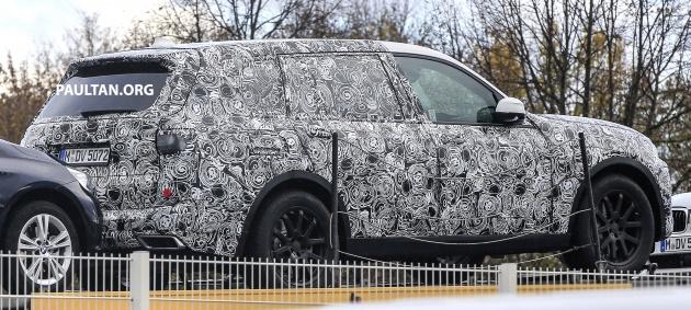 BMW X7 spyshots