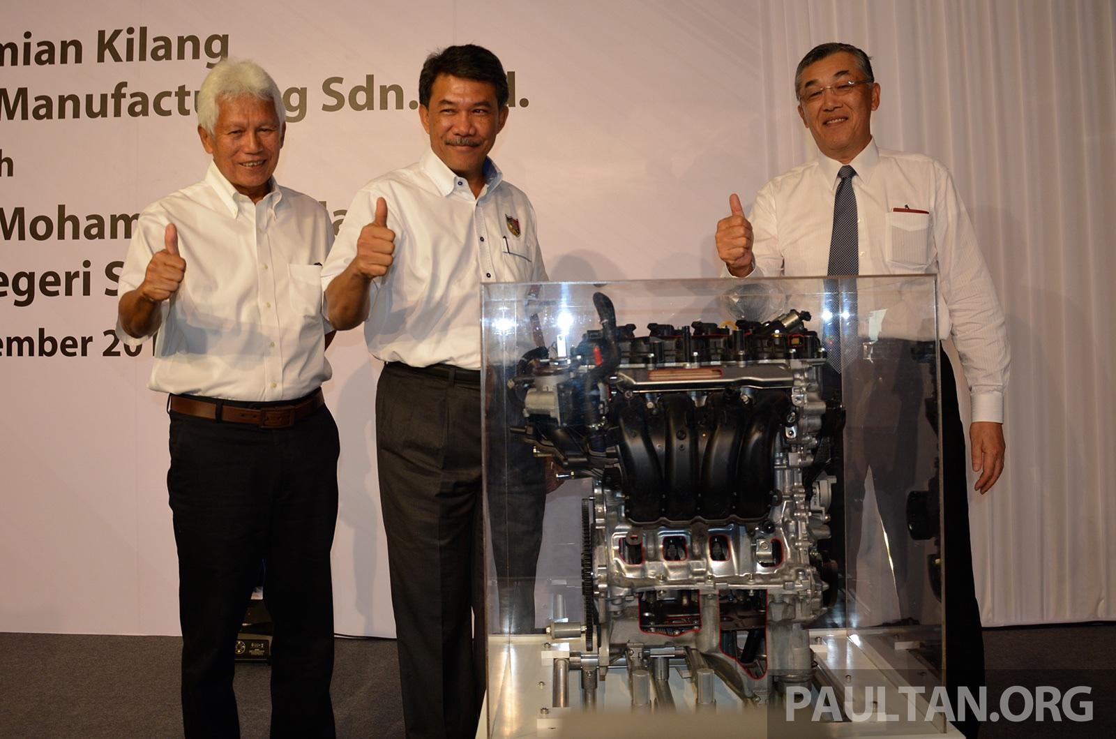 Rm500m Daihatsu Perodua Engine Manufacturing Plant Officially Opens In Sendayan Nr Engines Paultan Org