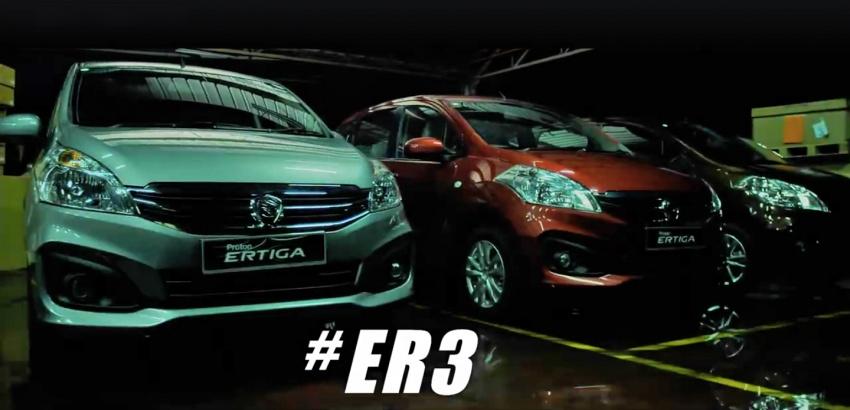Proton Ertiga name confirmed for the rebadged Suzuki Image #581588