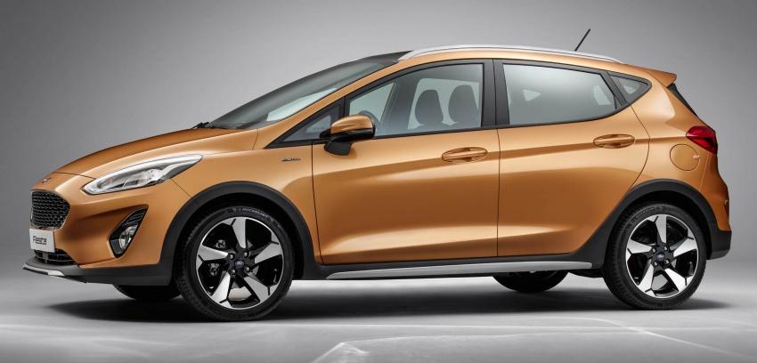 Next-gen Ford Fiesta arrives – four variants, new tech Image #586143