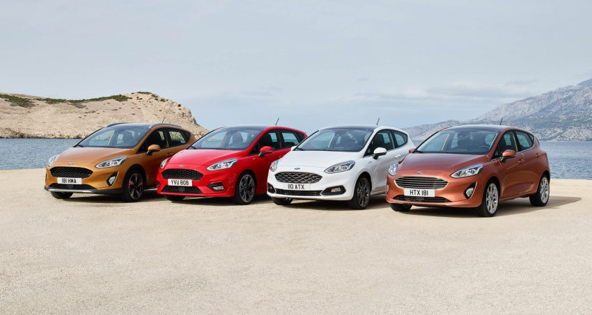 Next-gen Ford Fiesta arrives – four variants, new tech Image #586144