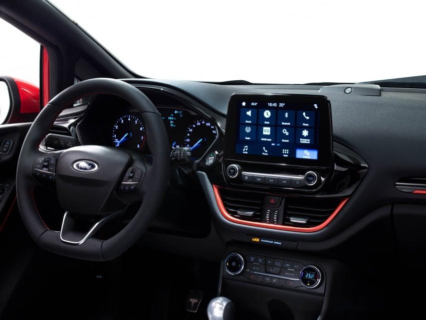 Next-gen Ford Fiesta arrives – four variants, new tech Image #586146