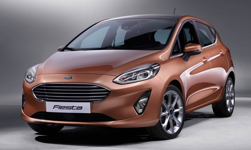 Next-gen Ford Fiesta arrives – four variants, new tech Image #586148