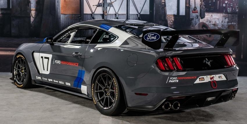 Ford Mustang GT4 – kereta lumba dibawa ke SEMA Image 574424