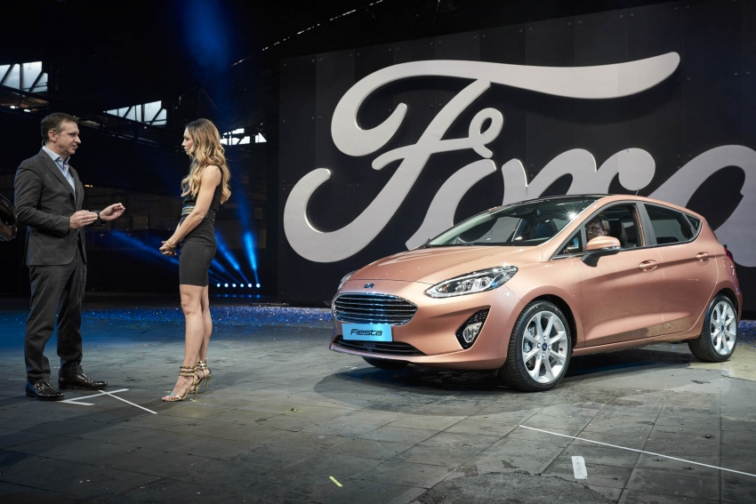 Next-gen Ford Fiesta arrives – four variants, new tech Image #586150
