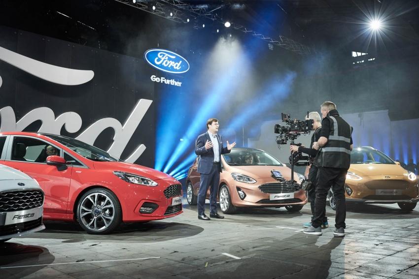 Next-gen Ford Fiesta arrives – four variants, new tech Image #586151