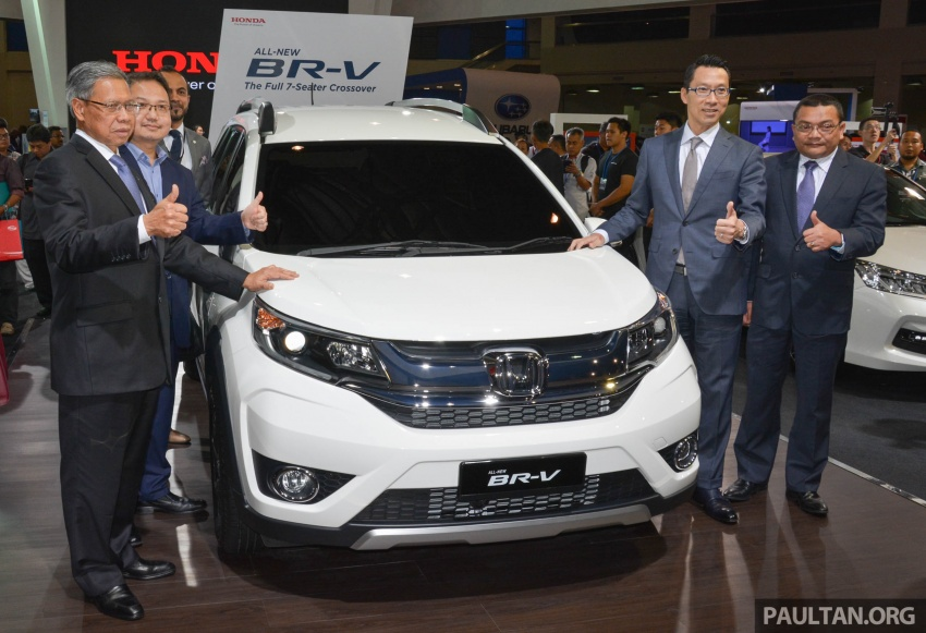 Honda BR-V seven-seater SUV previewed in Malaysia Image #576915