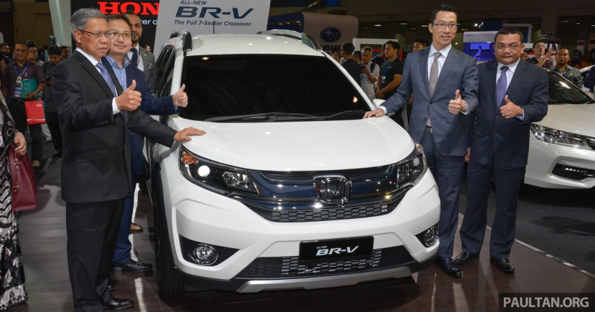 Honda BR-V seven-seater SUV previewed in Malaysia Image #576902