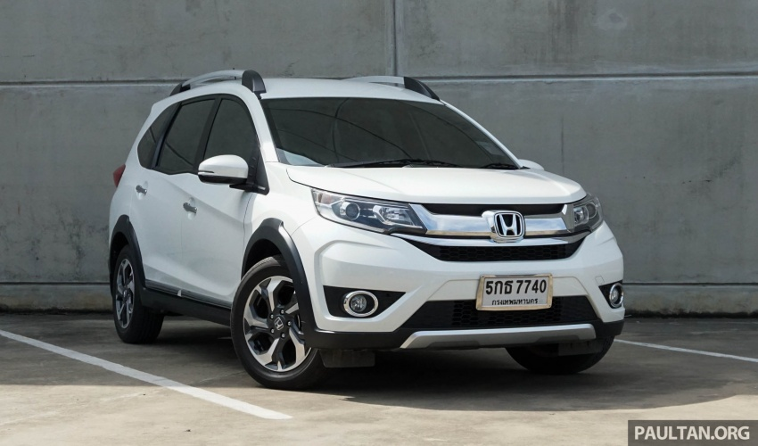 DRIVEN: Honda BR-V seven-seater SUV sampled in Thailand – coming to Malaysia soon; worth the wait? Image #583873