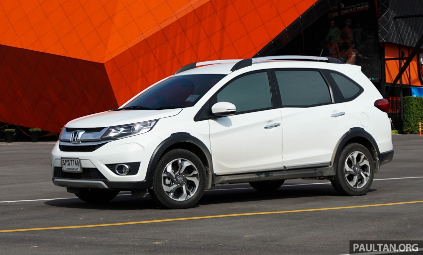 DRIVEN: Honda BR-V seven-seater SUV sampled in Thailand – coming to Malaysia soon; worth the wait? Image #583874