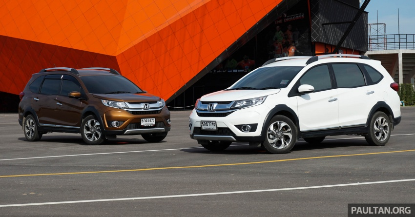 DRIVEN: Honda BR-V seven-seater SUV sampled in Thailand – coming to Malaysia soon; worth the wait? Image #583876