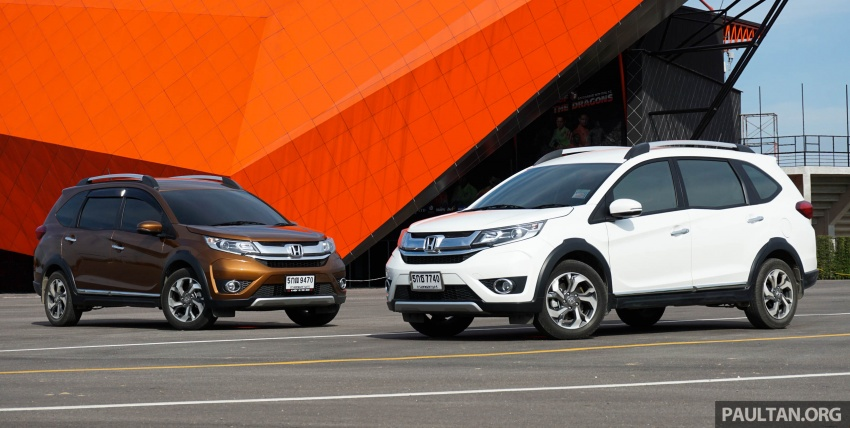 DRIVEN: Honda BR-V seven-seater SUV sampled in Thailand – coming to Malaysia soon; worth the wait? Image #583877