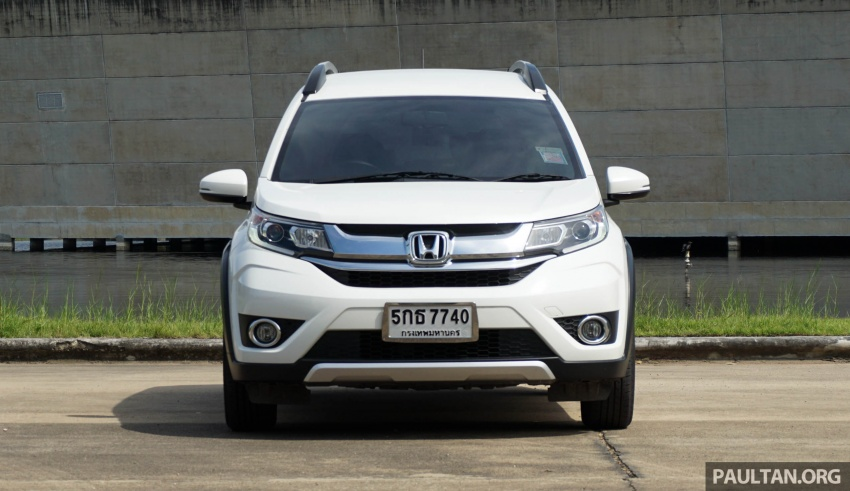 DRIVEN: Honda BR-V seven-seater SUV sampled in Thailand – coming to Malaysia soon; worth the wait? Image #583879