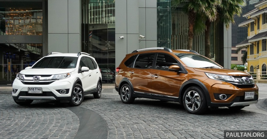 DRIVEN: Honda BR-V seven-seater SUV sampled in Thailand – coming to Malaysia soon; worth the wait? Image #583865