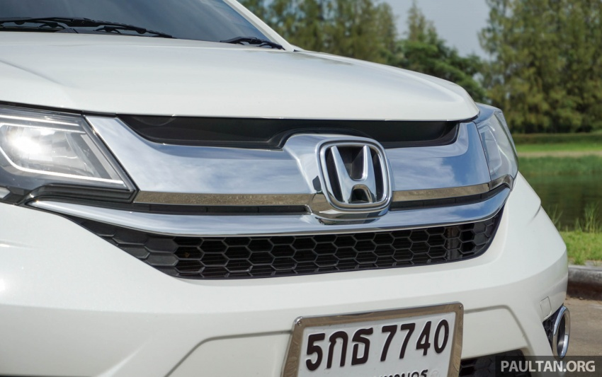 DRIVEN: Honda BR-V seven-seater SUV sampled in Thailand – coming to Malaysia soon; worth the wait? Image #583887