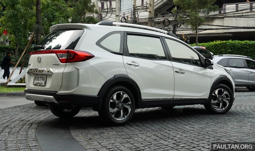 DRIVEN: Honda BR-V seven-seater SUV sampled in Thailand – coming to Malaysia soon; worth the wait? Image #583866