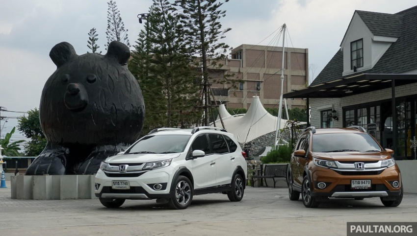 DRIVEN: Honda BR-V seven-seater SUV sampled in Thailand – coming to Malaysia soon; worth the wait? Image #583868