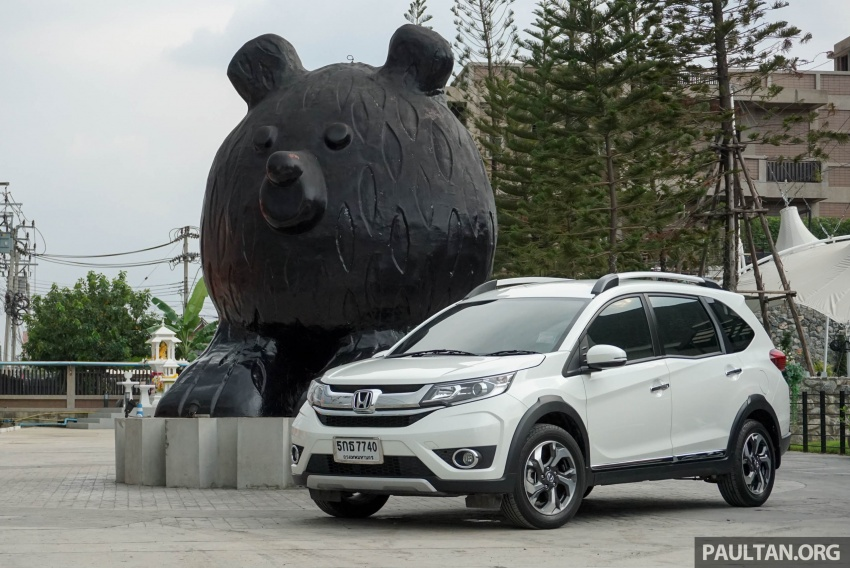 DRIVEN: Honda BR-V seven-seater SUV sampled in Thailand – coming to Malaysia soon; worth the wait? Image #583869