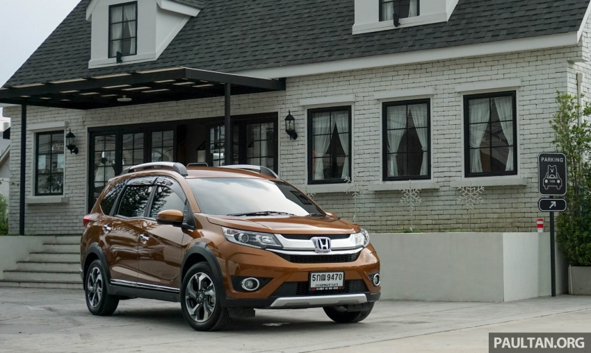 DRIVEN: Honda BR-V seven-seater SUV sampled in Thailand – coming to Malaysia soon; worth the wait? Image #583870