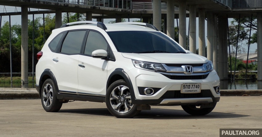DRIVEN: Honda BR-V seven-seater SUV sampled in Thailand – coming to Malaysia soon; worth the wait? Image #583871