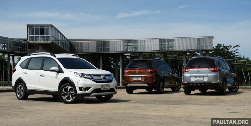 DRIVEN: Honda BR-V seven-seater SUV sampled in Thailand – coming to Malaysia soon; worth the wait? Image #583872