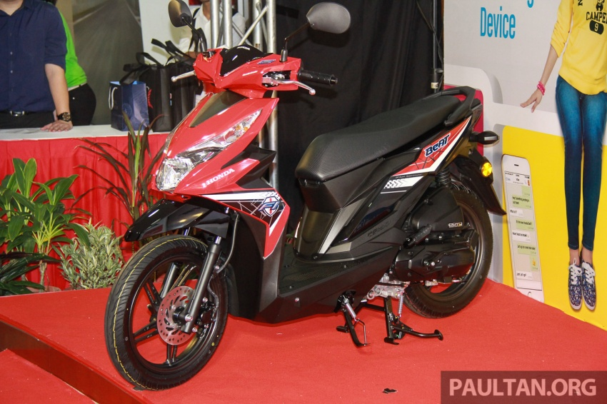 Back to Story: 2017 Honda BeAT scooter in Malaysia – RM5,565