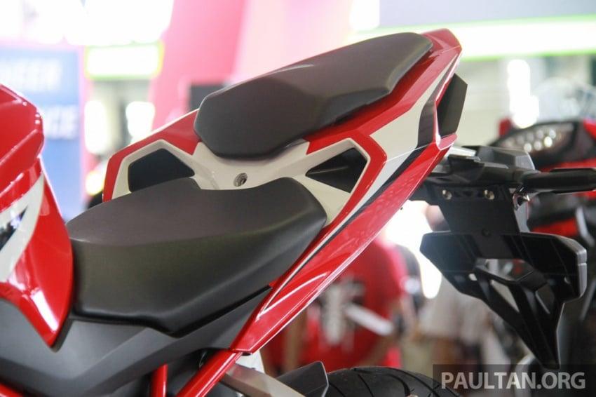 GALLERY: 2017 Honda CBR250RR displayed in M'sia Image #572649