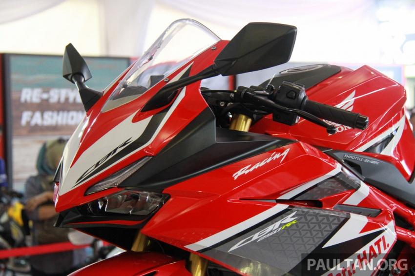 GALLERY: 2017 Honda CBR250RR displayed in M'sia Image #572651
