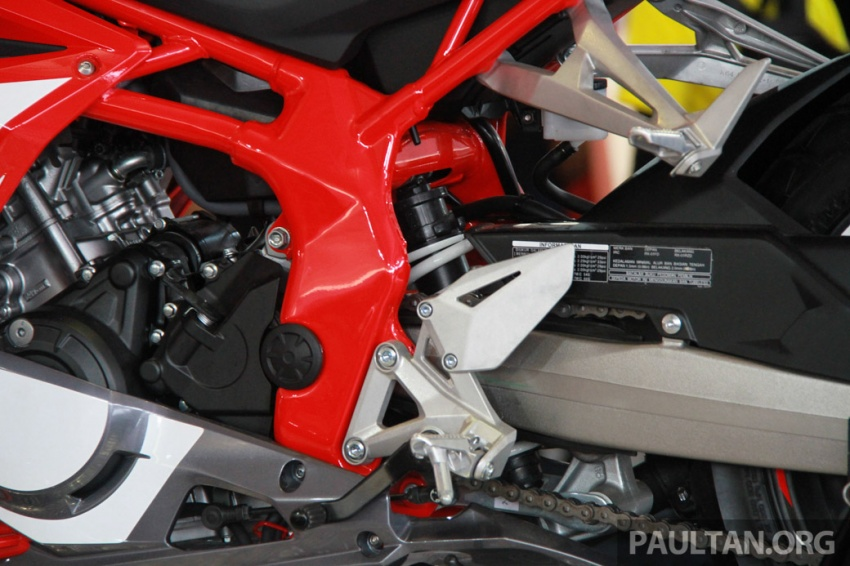 GALLERY: 2017 Honda CBR250RR displayed in M'sia Image #572653