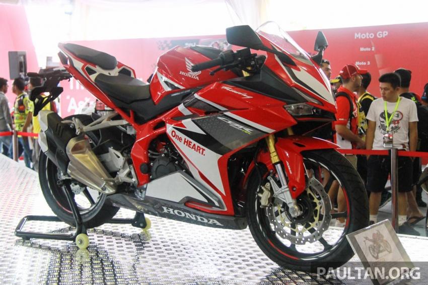 GALLERY: 2017 Honda CBR250RR displayed in Malaysia