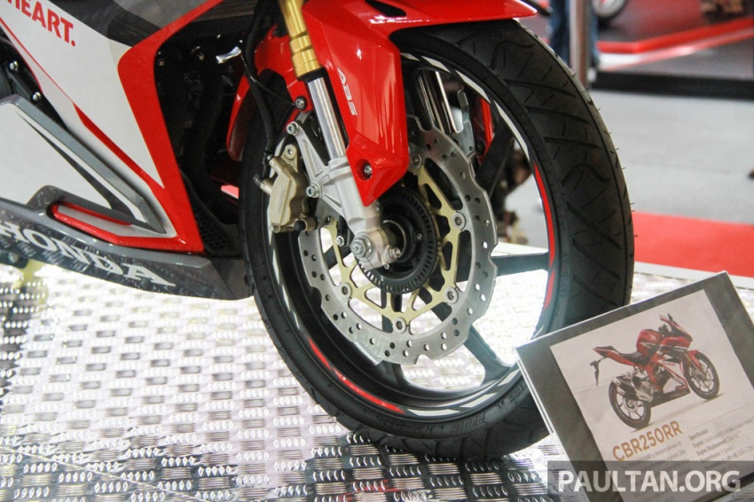 GALLERY: 2017 Honda CBR250RR displayed in M'sia Image #572644