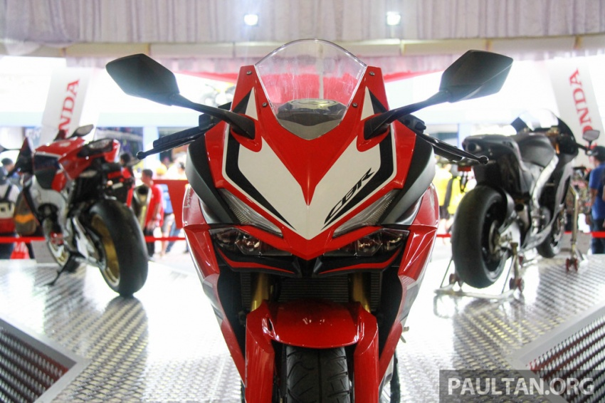 GALLERY: 2017 Honda CBR250RR displayed in M'sia Image #572646