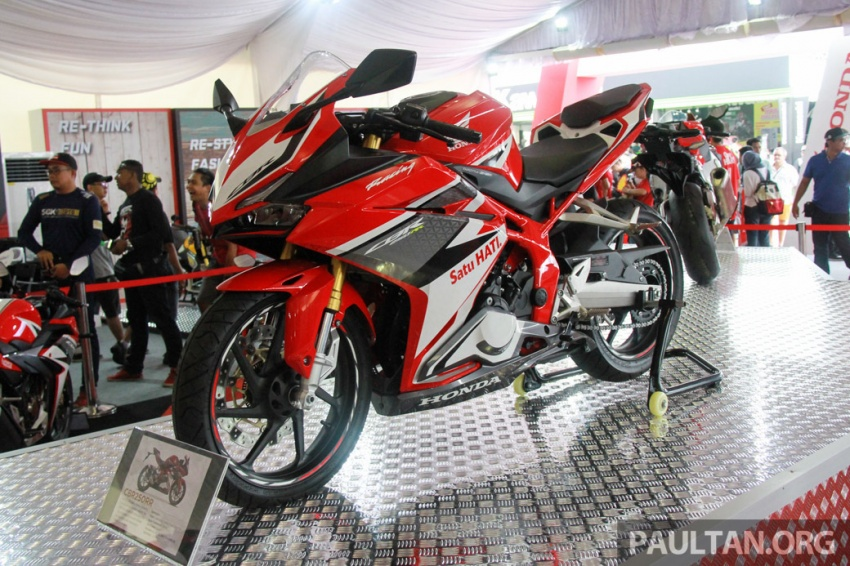 GALLERY: 2017 Honda CBR250RR displayed in M'sia Image #572647