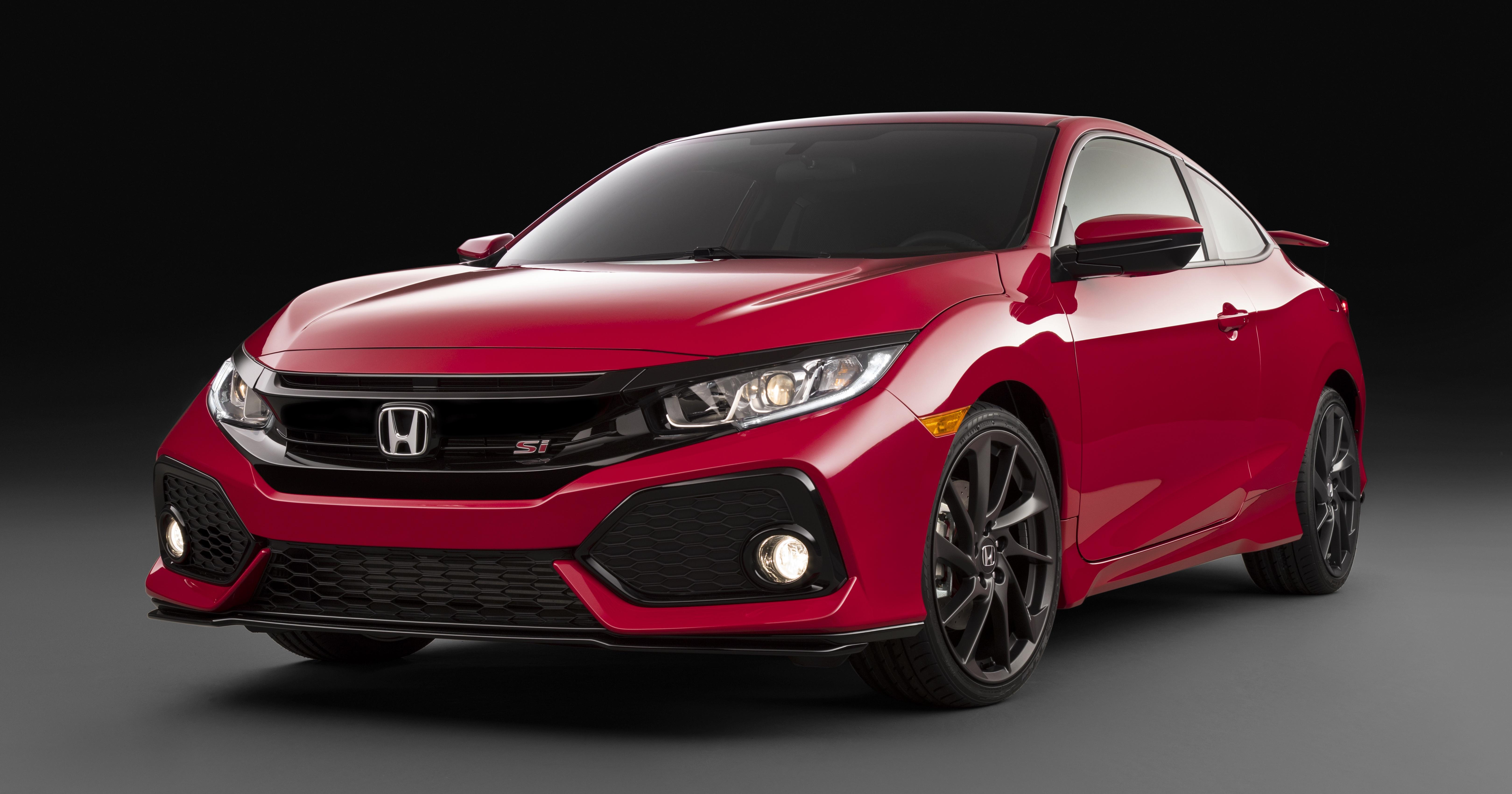 Honda Civic Si Prototype Revealed For LA Auto Show