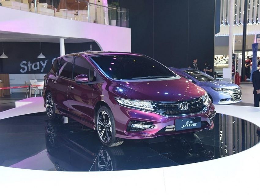 Six-seater Honda Jade facelift launched in China Image #583362