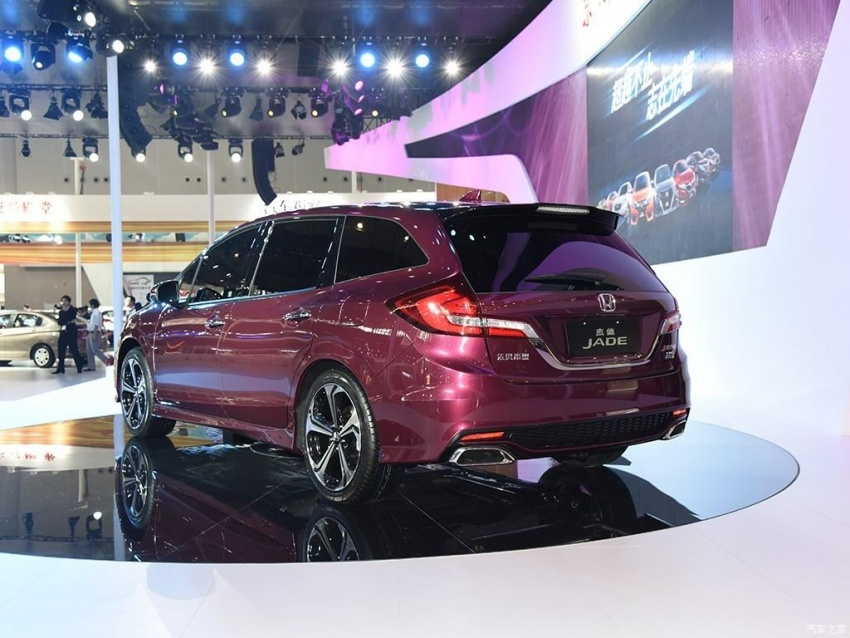 Six-seater Honda Jade facelift launched in China Image #583363