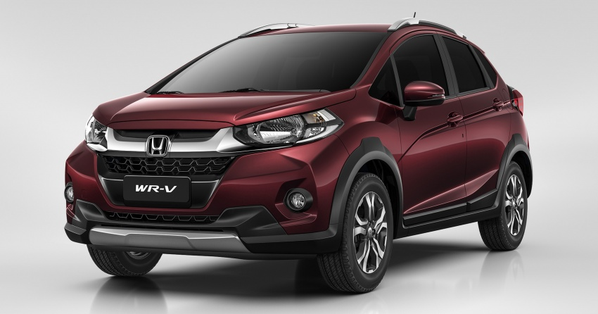 Honda WR-V – Jazz-based crossover officially debuts Image #575559