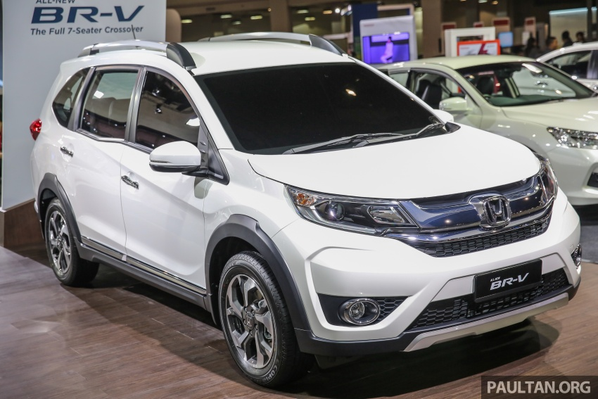 Honda BR-V seven-seater SUV previewed in Malaysia Image #576986