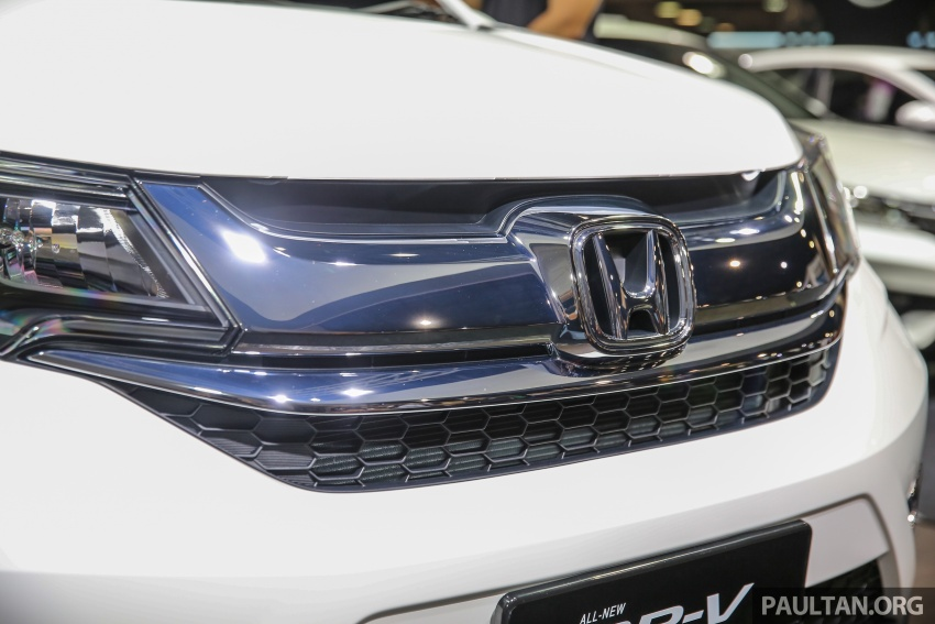 Honda BR-V seven-seater SUV previewed in Malaysia Image #576997