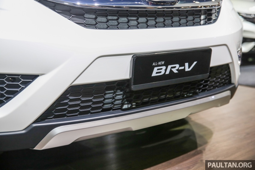 Honda BR-V seven-seater SUV previewed in Malaysia Image #576999