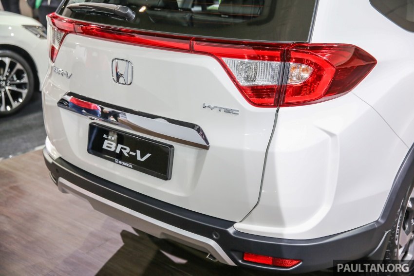 Honda BR-V seven-seater SUV previewed in Malaysia Image #577017