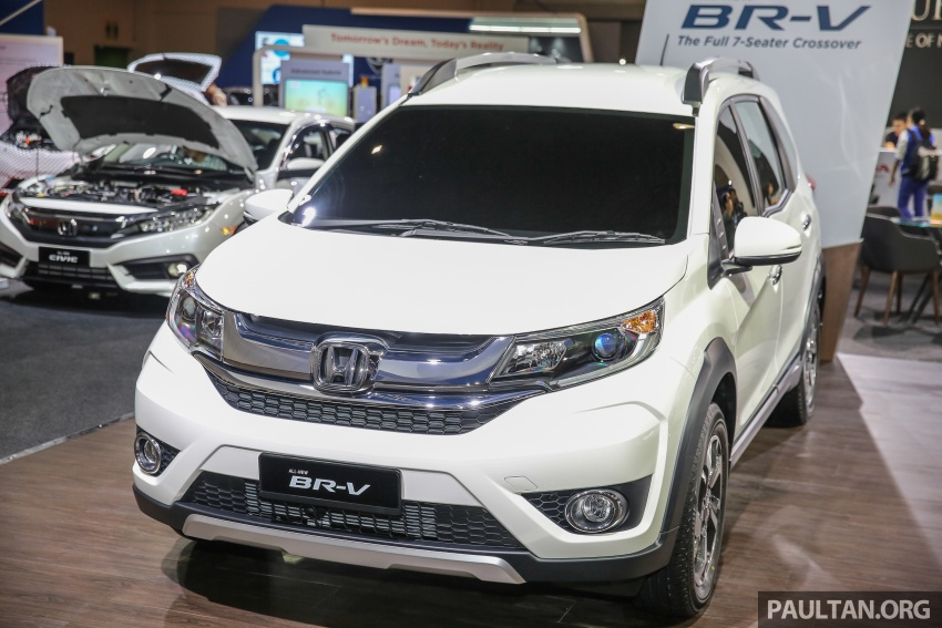 Honda BR-V seven-seater SUV previewed in Malaysia Image #576987