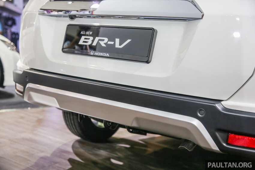 Honda BR-V seven-seater SUV previewed in Malaysia Image #577021