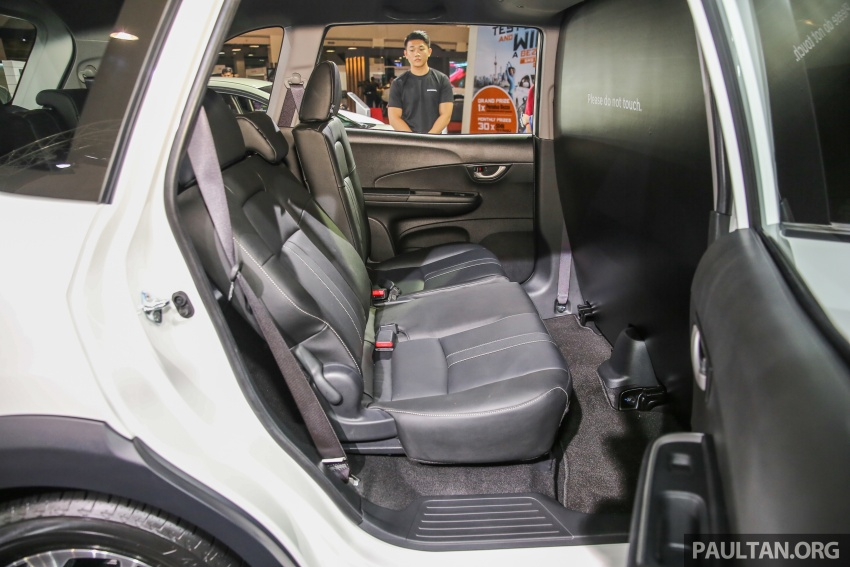 Honda BR-V seven-seater SUV previewed in Malaysia Image #577032