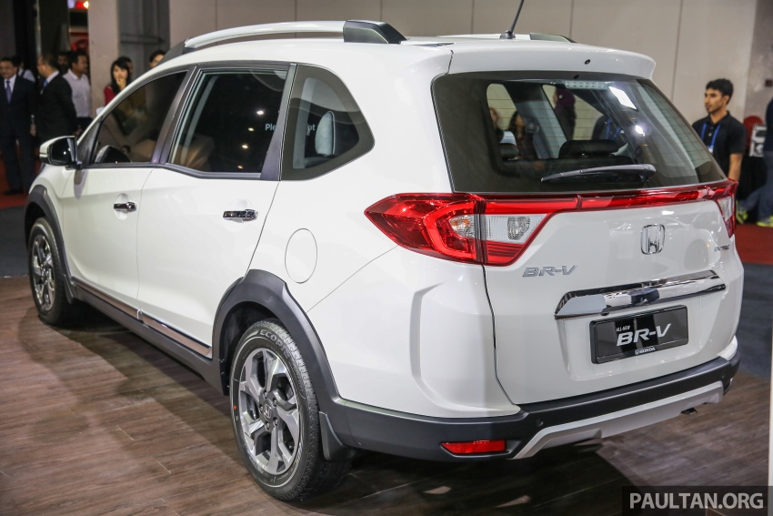 Honda BR-V seven-seater SUV previewed in Malaysia Image #576989