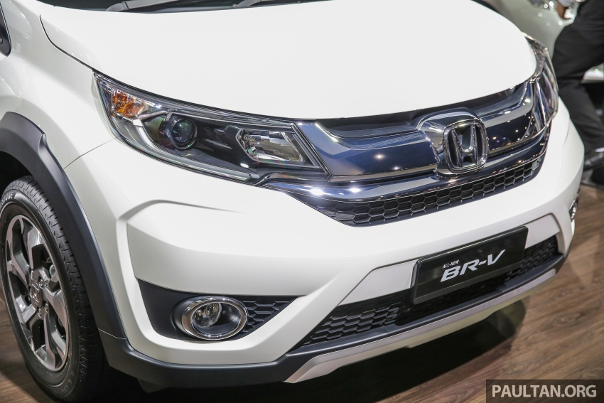 Honda BR-V seven-seater SUV previewed in Malaysia Image #576993