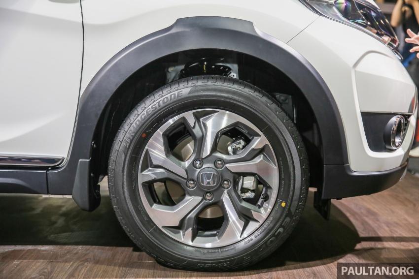 Honda BR-V – SUV tujuh-tempat duduk diprebiu untuk pasaran Malaysia buat pertama kali di MIECC Image #577132