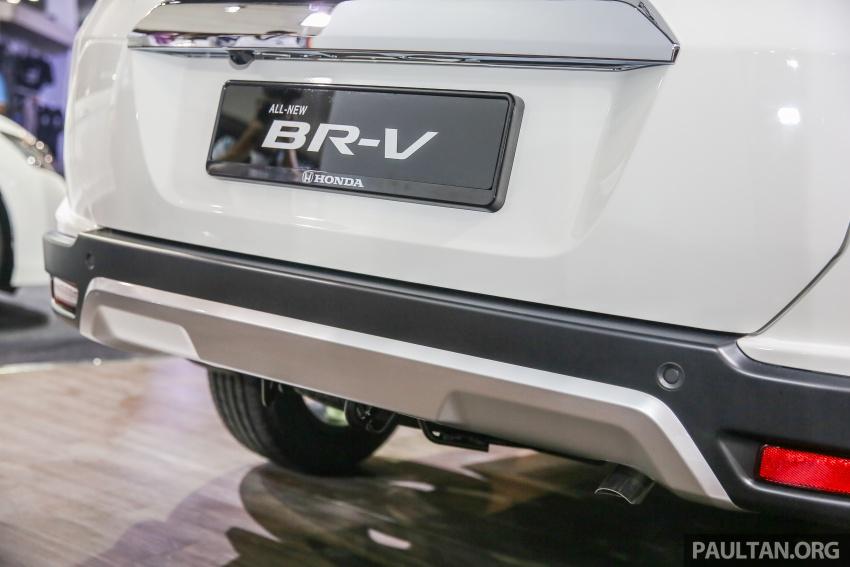 Honda BR-V – SUV tujuh-tempat duduk diprebiu untuk pasaran Malaysia buat pertama kali di MIECC Image #577116